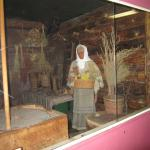 well preserved museum attendant