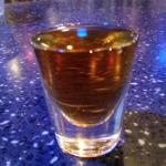 Specialty $5 Fireball drink at 1750 Bistro / Zinc Lounge inside hotel