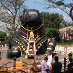 Mysore: Nandi-Shri Chamundeshwari temple