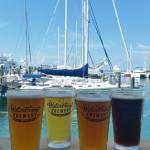 4 of our hand-crafted beers brewed here on-site