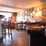 The Pug & Greyhound Bar Area