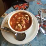 macaroni beef soup