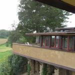 Balcony on house