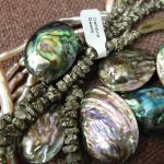 pearls, shell, and semiprecious stone beads