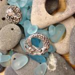 Mermaids...and sea glass beads!