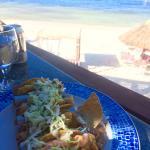 Lobster Tacos, so good!