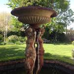 Lovingly restored gardens