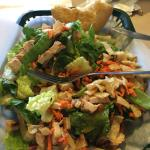 Chinese chicken half salad