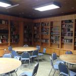 Love the library, one of the rooms in their conference area!
