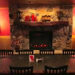 Main dining room fireplace