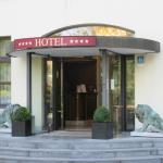 Ingang van het Hotel