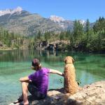An alpine lake 30 min away ...summer 2015