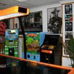 Air Hockey and vintage crane games