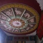 天井の十二支図も素晴らしかったです