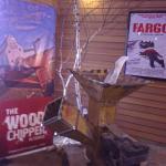 Wood chipper like in the movie Fargo