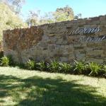 Part of Lanterns Retreat's walled garden