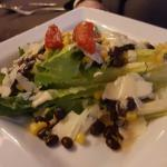 Braised short ribs Salmon Filet Caesar salad