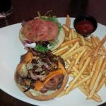 BBQ Cheddar Bacon Burger