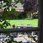 Garden at Castle Rising Tea Rooms