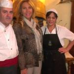 Norma Duval nos visita, con Rufino y Angeles