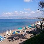 View of beach from Ttakkas restaurant