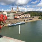 Parking en bord de Saône