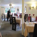 The dining room at Sunnydene