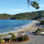 Sicht vom Hotelzimmer auf die Bucht von Biodola