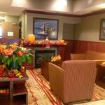 Lovely lobby-dressed for fall