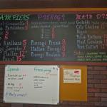 Chalkboard Pierogi