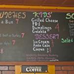 Chalkboard Sandwiches