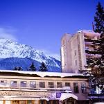 Hotel von Aussen Winter