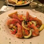 Delicious Shrimp with Vegetable Saute