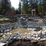 the creeks and ponds being worked on for next year