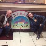 At the famed Kebab Palace