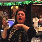 Megan - bartender extraordinaire!