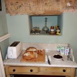 Pâes de fabricação própria para o café-da-manhã