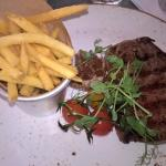 My steak...