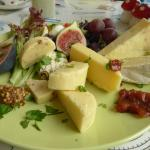 Ploughman`s lunch.