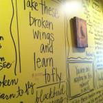 written on the walls