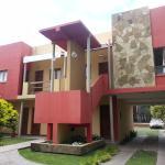 Uno de los bloques de habitaqciones