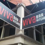 Outside Viva Bar + Kitchen Signs