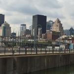 Vu sur Montreal depuis le Vieux Port