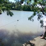 The fisherman's net.