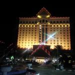 Don Chan Palace Hotel in the evening hour !!