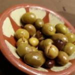 Small green Olives