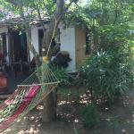 le petit bungalow avec son hamac devant la rivière