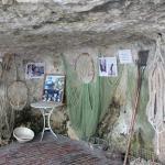 une des grottes