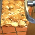 buns on the floor