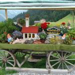 Auch für Kinder gibt es Attraktionen, in der Nähe ein Klanggarten bei Stein